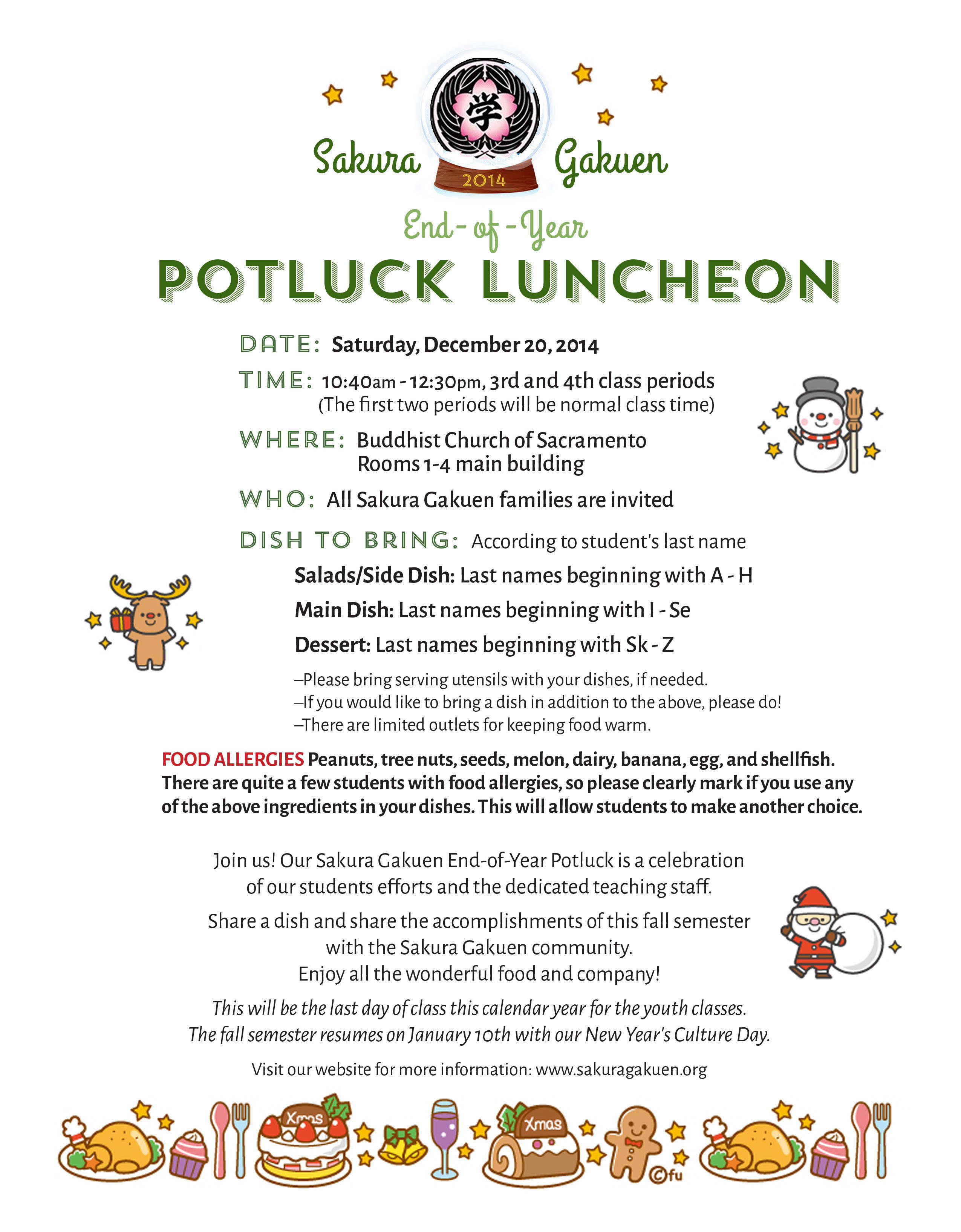 Christmas Potluck Invitations for awesome invitations example