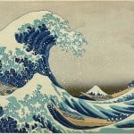 Katsushika Hokusai (葛飾北斎) -detail of great wave off Kanagawa