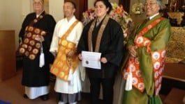Darcy Nishi Minister Assistant Installation April 2016